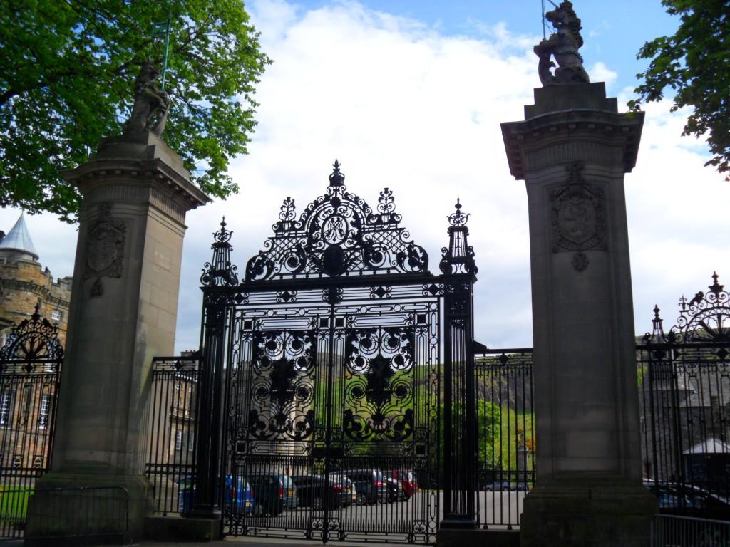 Palácio de Holyroodhouse-Edimburgo